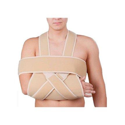 Фиксирующая повязка на плечевой сустав своими руками