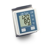 Фото Автоматический тонометр на запястье LD8(LD-8) по цене 802 грн. Торговая марка Little Doctor (Сингапур). На запястье.