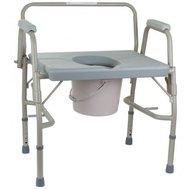 Фото Усиленный стул-туалет OSD(OSD-BL740101) по цене 3590 грн. Торговая марка OSD (Италия). Туалетные стулья.