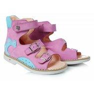 Фото Ортопедические босоножки для девочек Theo Leo 154(LEO-154) по цене 1210 грн. Торговая марка TheoLeo (Турция). Летняя обувь.