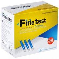Фото Тест-полоски Finetest Premium 25 шт(GLU-0237) по цене 170 грн. Торговая марка Finetest. Тест-полоски.