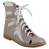 Фото Сандали ортопедические-сложные с жестким берцем на шнурках KODO 513(KODO-513) по цене 2259 грн. Торговая марка KODO (Украина). Весенняя, осенняя обувь.