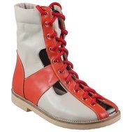 Фото Сандали ортопедические-сложные с жестким берцем на шнурках KODO 514(KODO-514) по цене 1786 грн. Торговая марка KODO (Украина). Летняя обувь.