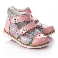 Фото Ортопедические босоножки для девочек THEO LEO 649(LEO-649) по цене 1180 грн. Торговая марка TheoLeo (Турция). Летняя обувь.