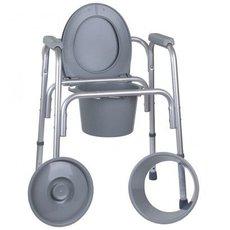Алюминиевый стул-туалет 3 в 1Алюминиевый стул-туалет 3 в 1