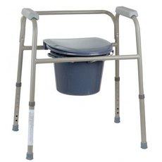 Стальной стул-туалетСтальной стул-туалет
