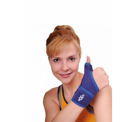 Фото Бандаж-шина на запьястье с фиксатором большого пальца (880 VARITEKS)(v-880) по цене 367 грн. Торговая марка Variteks (Турция). Запястье.