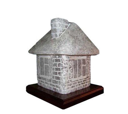 """Фото Соляной светильник """"Дом"""". Вес 6-8 кг. ТМ Соляна(SW-1136) по цене 670 грн. Торговая марка Соляна (Украина). Соляные лампы."""