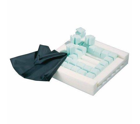 Фото Подушки для сидения в виде кубиков DecuSit(decuSit) по цене 1510 грн. Торговая марка ADL (Германия). Противопролежневые системы.