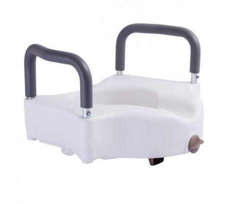 Фото Высокое туалетное сиденье с фиксатором и съемными поручнями OSD(OSD-RPM-67034) по цене 1450 грн. Торговая марка OSD (Италия). Насадки на унитаз.