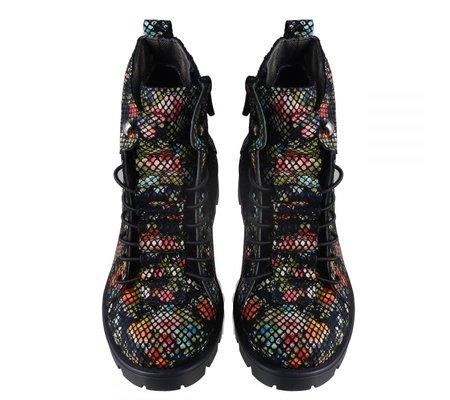 Фото Профилактические ботинки для девочек THEO LEO 601(LEO-601) по цене 1460 грн. Торговая марка TheoLeo (Турция). Весенняя, осенняя обувь.