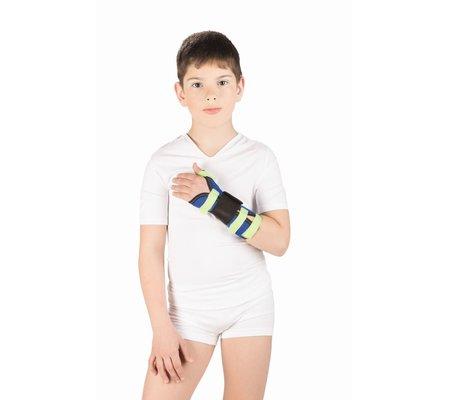 Фото Бандаж детский на лучезапястный сустав с фиксацией первого пальца Т-8307Д(TRV-T8307/8330) по цене 454 грн. Торговая марка Тривес (Россия). Запястье.