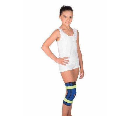 Фото Бандаж детский на коленный сустав с пружинными ребрами жесткости Т-8506 Д(TRV-T8506D) по цене 875 грн. Торговая марка Тривес (Россия). Колено.