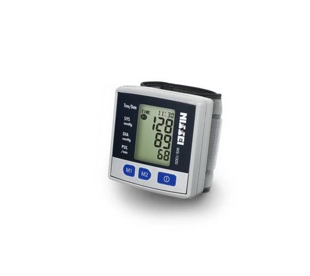 Фото Автоматический тонометр на запястье NISSEI WS-1000(WS-1000) по цене 1018 грн. Торговая марка NISSEI (Япония). На запястье.
