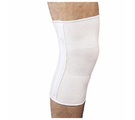 Фото Согревающий наколенник для легкой фиксации коленного сустава с металлическими спиральными ребрами жесткости 201М(TKN-201(M)) по цене 587 грн. Торговая марка Maxar (США). Колено.