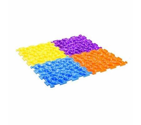 Фото Массажный коврик «Цветные камешки» М-516(TRV-M516) по цене 856 грн. Торговая марка Тривес (Россия). Массажеры.