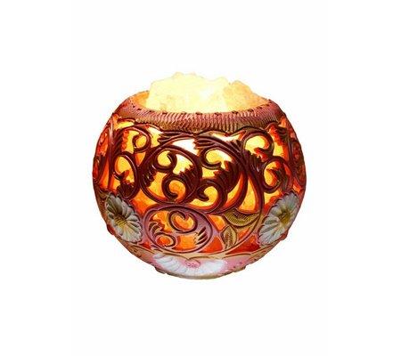 """Фото Соляная лампа """"Узоры радости"""" (3.7 кг)(SOL-1027) по цене 210 грн. Торговая марка Артемовск (Украина). Соляные лампы."""