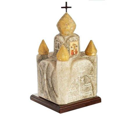"""Фото Соляная лампа """"Церковь двухъярусная"""" 12-14 кг.(SW-1138) по цене 650 грн. Торговая марка Соляна (Украина). Соляные лампы."""