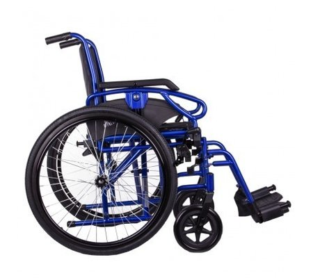 Фото Универсальная инвалидная коляска OSD Millenium ІІІ  с санитарным оснащением(OSD-STB3-**/STC3-**+WC) по цене 9980 грн. Торговая марка OSD (Италия). С механическим приводом.